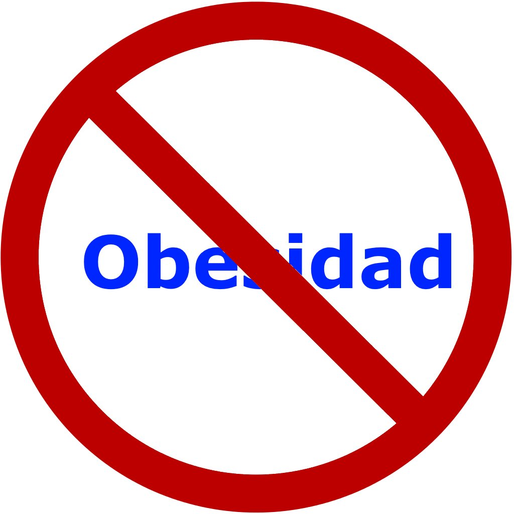 Combate la Obesidad: Nuestro logo