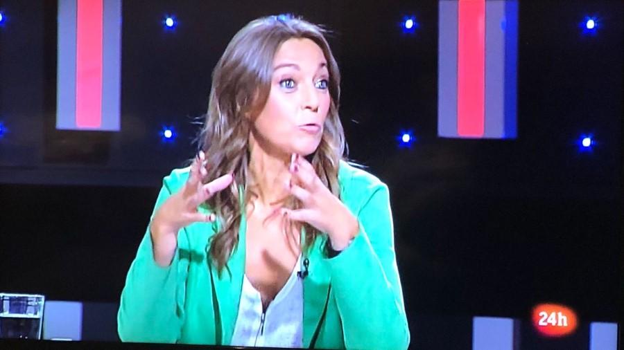 Concepció Veray en un programa de Televisión