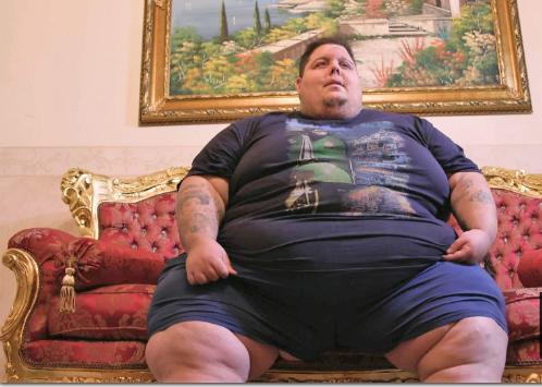 Le programa de TV Mi vida con 300 kilos