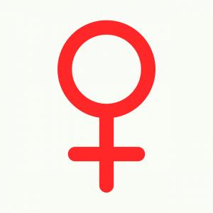 Mujer y obesidad. Símbolo femenino